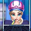 Help your friend Elsa in this new surgeon game and you will surely make her rea